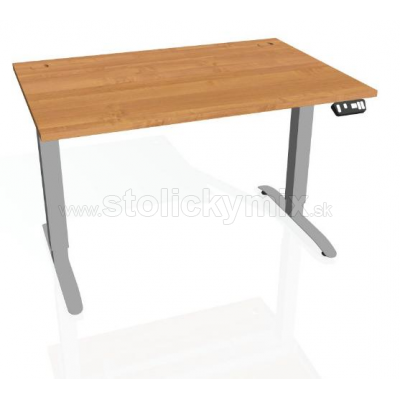 e5ab45f8e087 Výškovo nastaviteľný stôl HOBIS MOTION MS 2M 1200